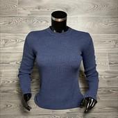Кофта женская синяя