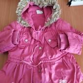 Замечательная курточка на возраст 3 года,сост отличное, осень-весна.