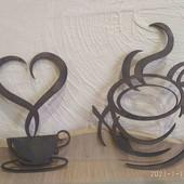 Декор чашечка кафе 20 см.