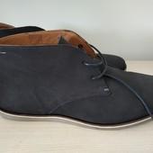 Ботинки демисезонные San Marina из нубука, размер 41, стелька 27см