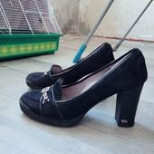 Туфли, Италия, натуральный замш