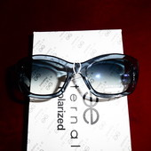 Красивые солнцезащитные очки Eternal.UV400. Дымчато голубые.
