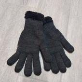 ☘ Теплі трикотажні рукавички від Tchibo (Німеччина), розмір 9
