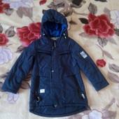 Куртка демисезон с удлиненной спинкой