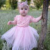 Нежное платьице для маленькой Девочки