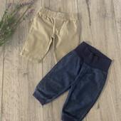 Штаны для мальчика 0-4 месяца. В отличном состоянии.