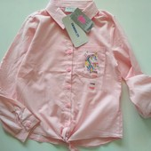 Хлопковая рубашка LC Waikiki