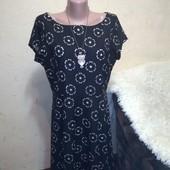 Красивое платье на подкладке 14/42 размера.