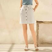 Стильная Льняная юбка Esmara evro 44 +6
