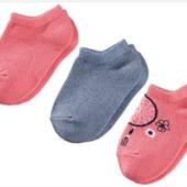 3 пары! Комплект носочков Lupilu Германия размер: 23-26