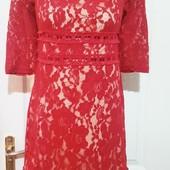 Крутое кружевное платье