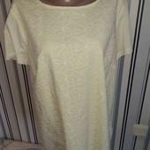 Жовта котоноа нарядна футболочка George, р18(Пог -55)