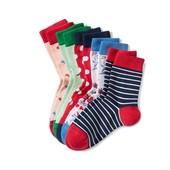 ☘ Лот 3 пари ☘ Для дівчинки-яскраві бавовняні шкарпетки від tcm Tchibo (Німеччина), розміри: 19-22