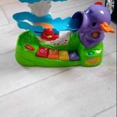 слоник Vtech для розвитку дитини, чудова іграшка