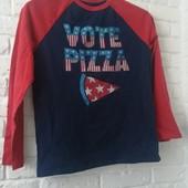 Реглан с принтом Pizza Gap для мальчика 10-11 лет
