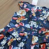 Нежное красивое платье в цветы