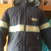 термо куртка, холодная весна, р. 8 лет 128 см, Snoe drift s.w.d. состояние хорошее