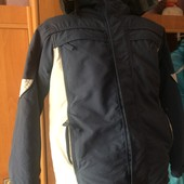 термо куртка, холодная весна, внутри флис, р. 12 лет 152 см, Snow boarding. состояние хорошее