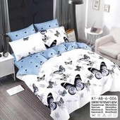 Реальные фотографии,мягкая постель!Бабочки!евро комплект!Alisemona!В инете от 550грн!скорее к нам