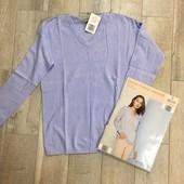 ☘ Лот 1 шт ☘ Дуже приємний до шкіри пуловер від Blue Motion (Німеччина), розмір європейський S 36/38