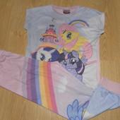 Пижама х\б my little Pony состояние хорошее