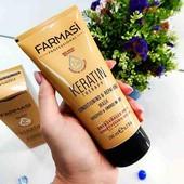 Кондиціонер-маска для  волосся кератин від Farmasi.  200 мл