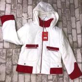 """Жен.стильная куртка,бренд """"Snow Grace""""На молнии,выс.ворот,капюшон,карманы.р.м,ххл.выс.кач-во❣"""