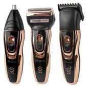 Многофункциональный набор для стрижки : машинка для стрижки, бритва, триммер gemei gm 595
