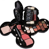 Косметический набор , набор косметики в виде сердца №1 ''Deluxe make up kit'' Ruby rose