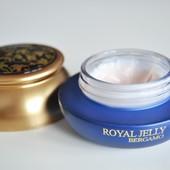 Омолаживающий питательный крем с маточным молочком Bergamo Royal Jelly Wrinkle сare сream