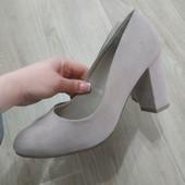 Шикарные туфли от New look, р.39, стелька 25 см