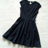 34-36р. Маленькое чёрное платье клёш Clyb L