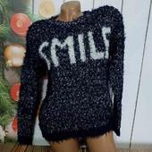 Тёпленький мягусенький свитерок на девочку от 12 лет