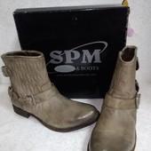 Кожаные ботинки Spm (Спм) 41р
