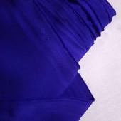 Габардин синий электрик, ширина 1,5м, Цена за 1метр, можно докупить по ставке