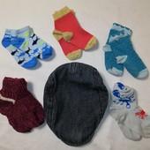 ЛоВиЛоТы! Крутая кепка и набор носочков на 1-3 года