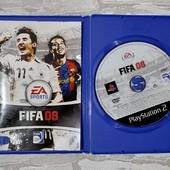 Диск для Playstation 2 игра Fifa 08