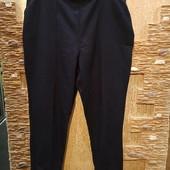 На пышные формы! Красивые зауженные плотненькие брюки, простроченные стрелки р.20 Акция читайте