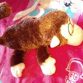 Мягкая игрушка chericole обезьяна, которая качается и смеется