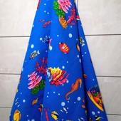 Коралловый риф! Яркое Большое полотенце для пляжа, для душа, для бани и сауны! 75*150 см