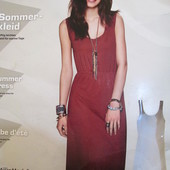 Платье сарафан миди с кружевом на плечах Esmara Германия размер евро S (36/38)