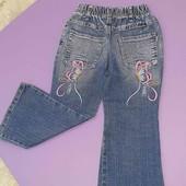 Джинсы штаны на 4-5лет