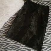 Стильная, теплая юбка с высокой талией, А-силует River Island p. 10