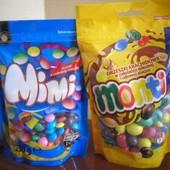 Mimi шоколадное драже 230 гр. или монти 240 грамм(на выбор) Польша.