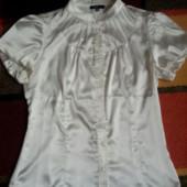 Нарядная блузка (легкое б/у), размер 42