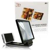 Увеличитель экрана 3D подставка для телефона Enlarged Screen Mobile Phone цвет белый или черный