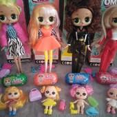 Набор Лол 3в1 - 3 разных куколки Лол