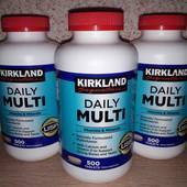 Мультивітаміни.Daily Multi kirtland. США (500 табл.)