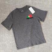 Коттоновая футболка Германия р.122-128 на 6-8лет