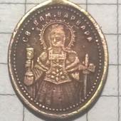 Ладанка старинная Св. Варвара